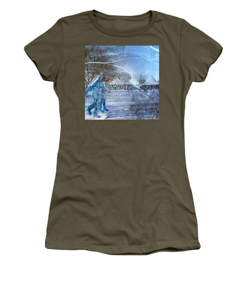 Midwinter Blues Women's T-Shirt