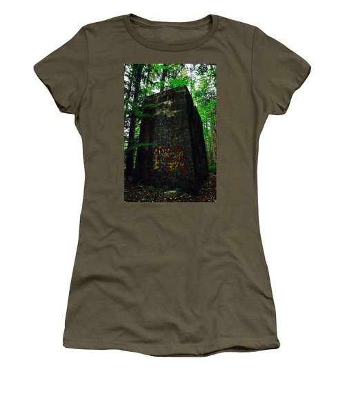 Women's T-Shirt featuring the photograph Mine 8 Matrix by Rasma Bertz