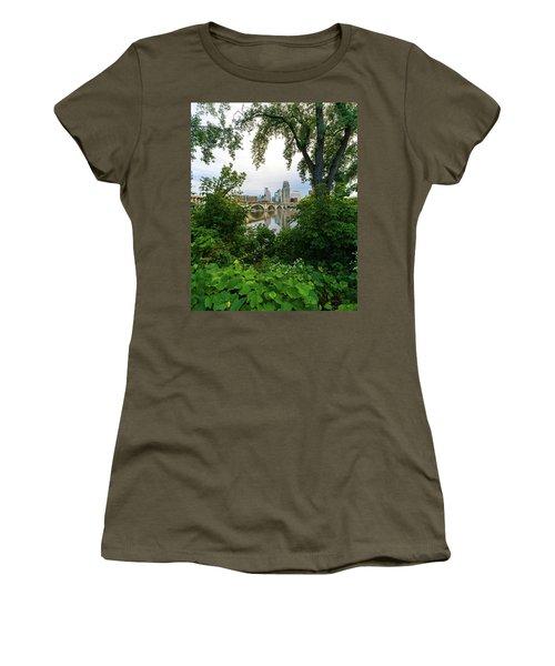 Minneapolis Through The Trees Women's T-Shirt