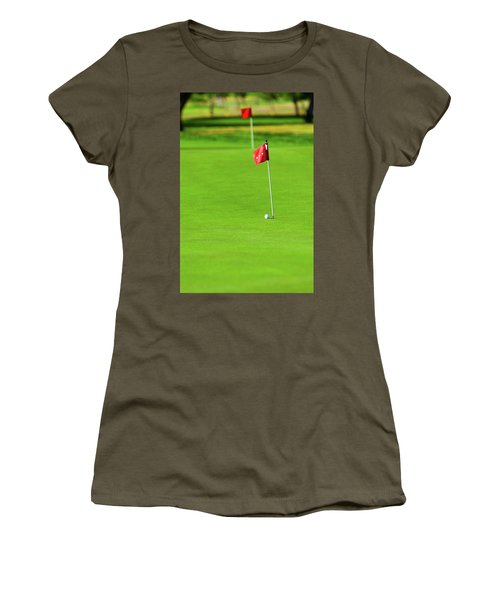 Women's T-Shirt (Athletic Fit) featuring the photograph Missing The Mark by SR Green
