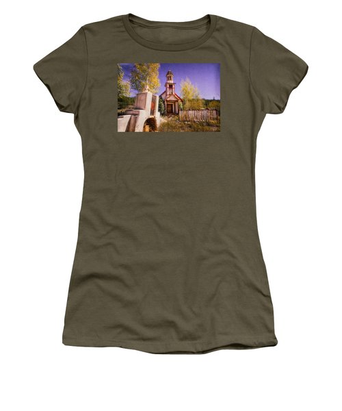 Women's T-Shirt (Athletic Fit) featuring the photograph Mission by Daniel George