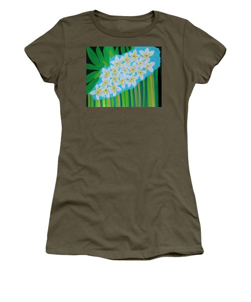 Mixed Up Plumaria Women's T-Shirt