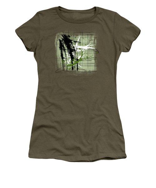 Modern Green Women's T-Shirt (Junior Cut) by Melissa Smith