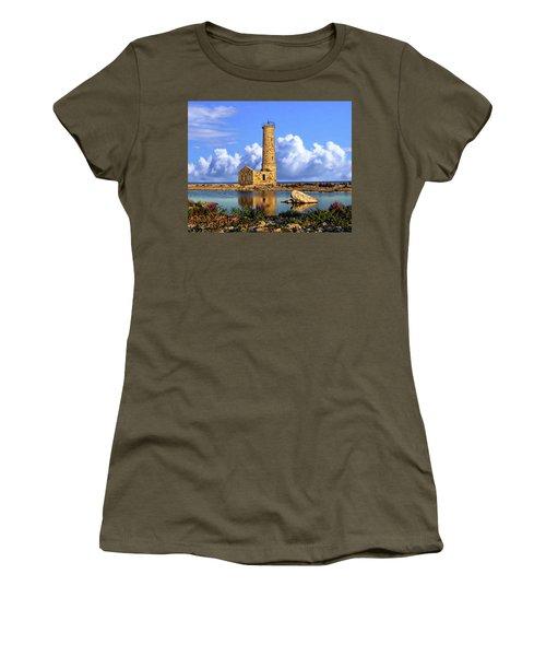 Mohawk Island Lighthouse Women's T-Shirt