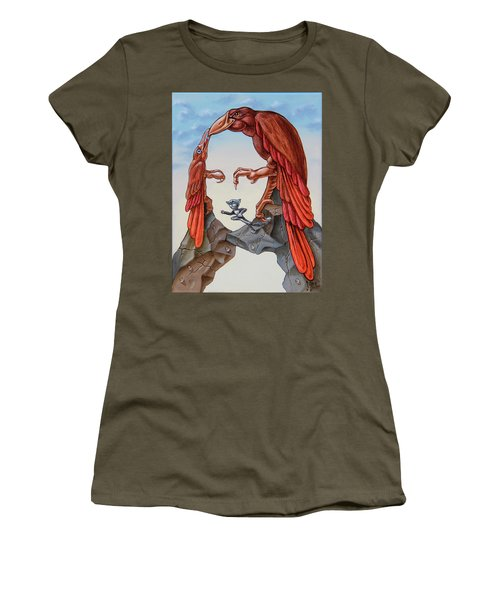 Mona Lisa. Air. Women's T-Shirt