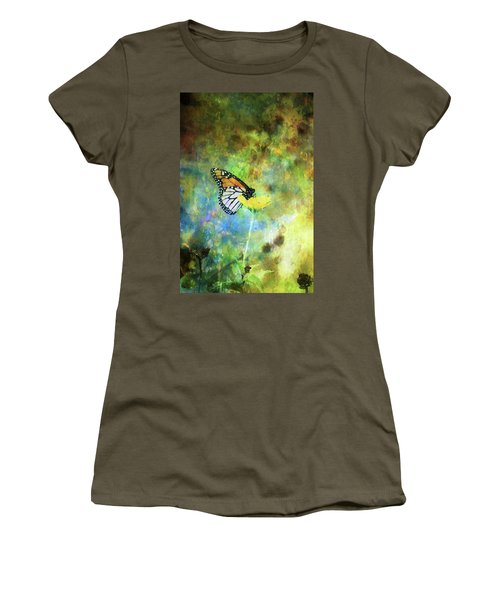 Monarch In Azure And Gold 5647 Idp_2 Women's T-Shirt