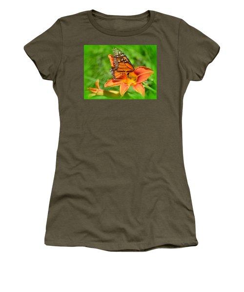 Monarch Minutes Women's T-Shirt (Athletic Fit)