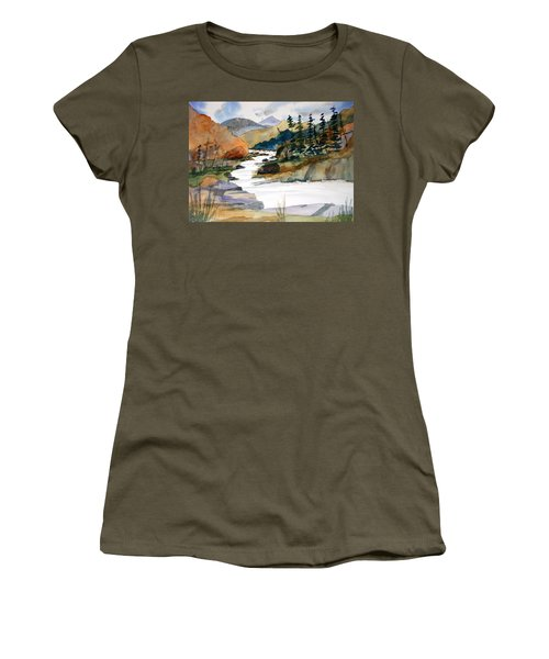 Montana Canyon Women's T-Shirt (Athletic Fit)