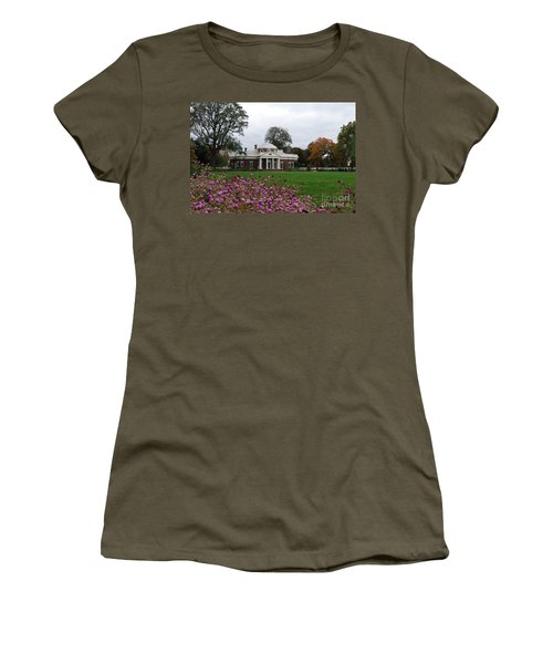 Women's T-Shirt (Junior Cut) featuring the photograph Monticello by Eric Liller