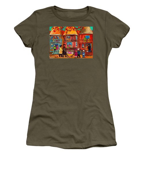 Montreal Early Autumn Women's T-Shirt