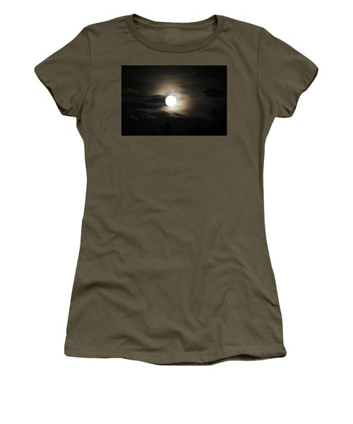 Moon Women's T-Shirt (Athletic Fit)