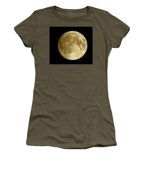 Moon During Eclipse Women's T-Shirt