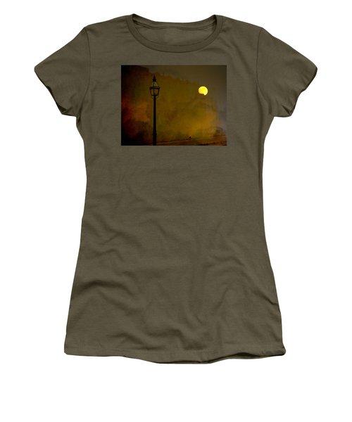 Moon Walker Women's T-Shirt (Athletic Fit)