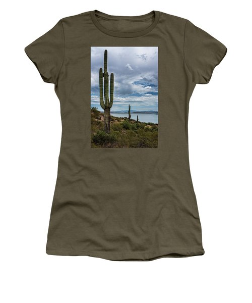 Women's T-Shirt (Athletic Fit) featuring the photograph More Beauty Of The Southwest  by Saija Lehtonen