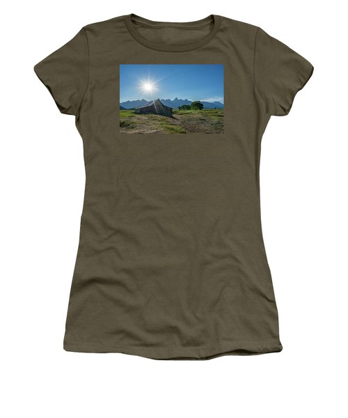 Mormon Row Women's T-Shirt (Athletic Fit)