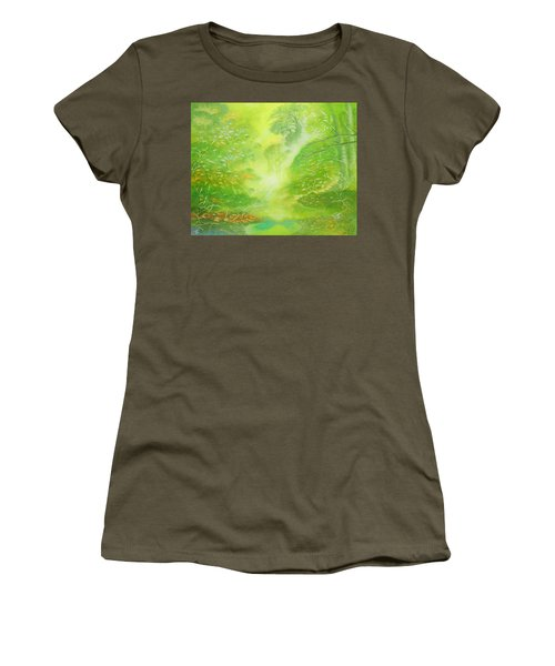 Morning Flora Women's T-Shirt (Athletic Fit)