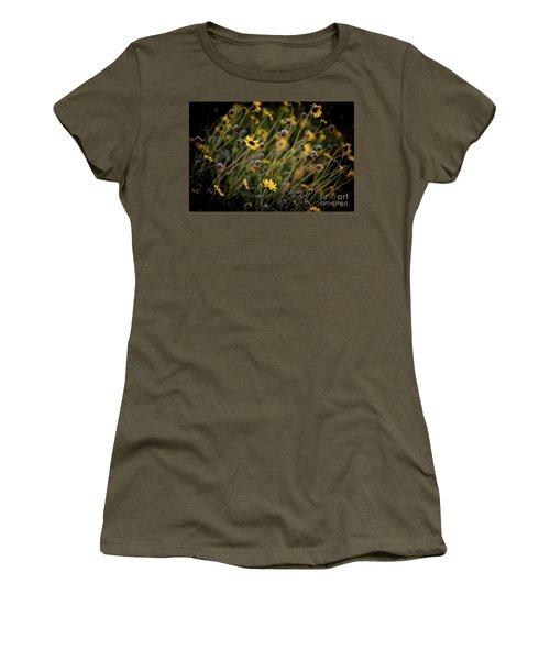 Morning Flowers Women's T-Shirt (Junior Cut)