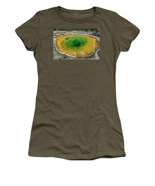 Morning Glory Women's T-Shirt (Junior Cut) by Alpha Wanderlust
