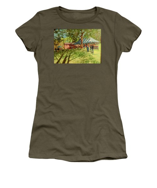 Morning In Ringgold Women's T-Shirt (Junior Cut) by Janet McGrath