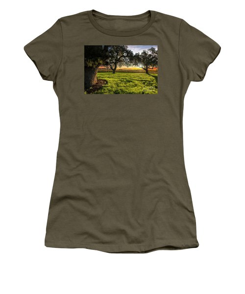 Morning In Wine Country Women's T-Shirt