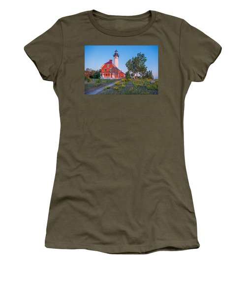 Morning Light At Au Sable Point Women's T-Shirt