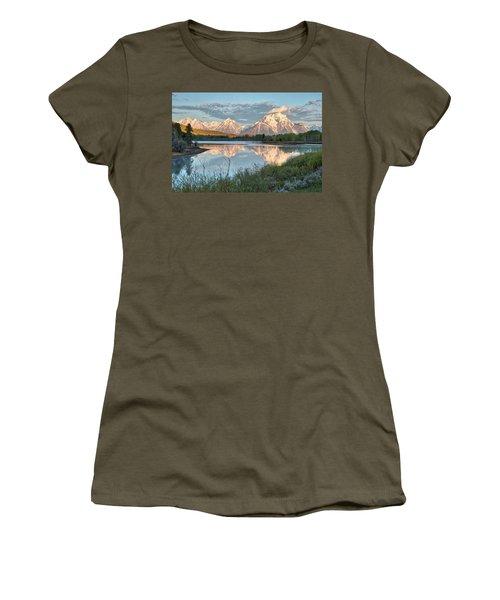 Morning Light At Oxbow Bend Women's T-Shirt