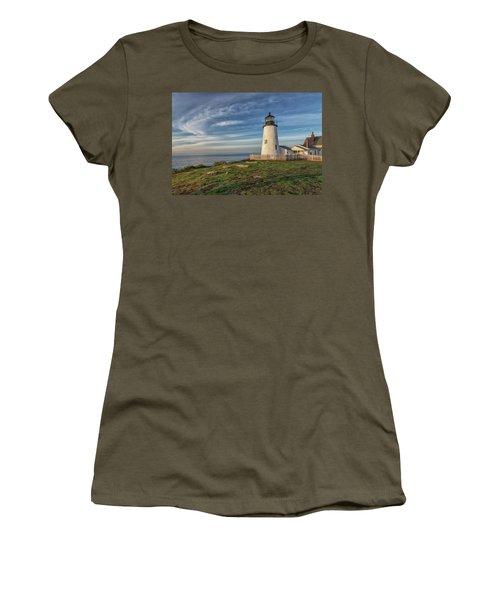 Morning Light At Pemaquid Point Women's T-Shirt