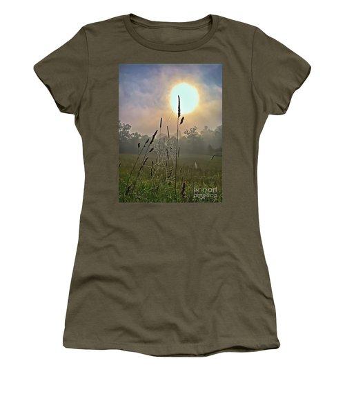 Morning Light Women's T-Shirt (Junior Cut) by Kerri Farley