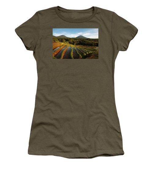 Morning On The Terrace Women's T-Shirt