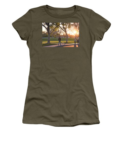 Morning Stroll Women's T-Shirt (Athletic Fit)