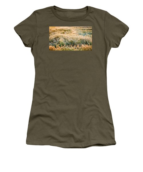 Morning Wheat Women's T-Shirt (Athletic Fit)