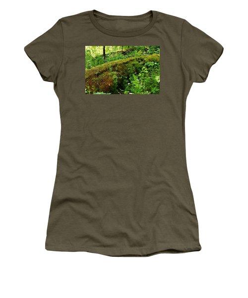 Moss Covered Log 2 Women's T-Shirt