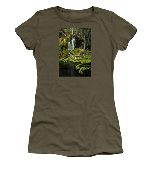 Mossy Falls Women's T-Shirt (Athletic Fit)