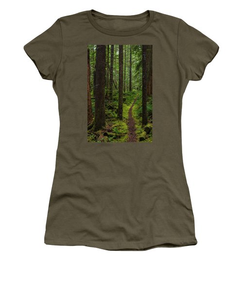 North Souixon Creek Mossy Trail Women's T-Shirt