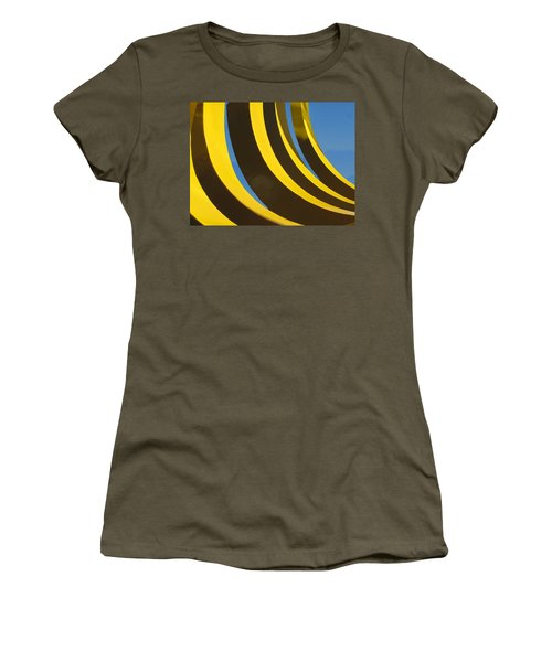 Women's T-Shirt featuring the photograph Mostly Parabolic by Rick Locke