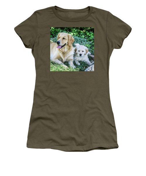 Mother And Pup Women's T-Shirt