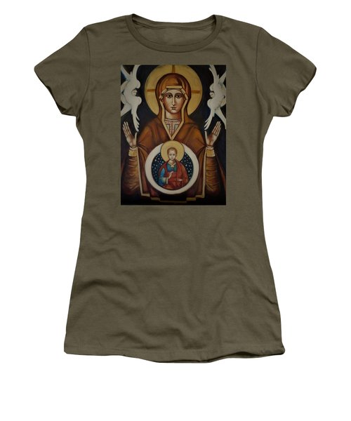 Mother Of God Women's T-Shirt (Athletic Fit)