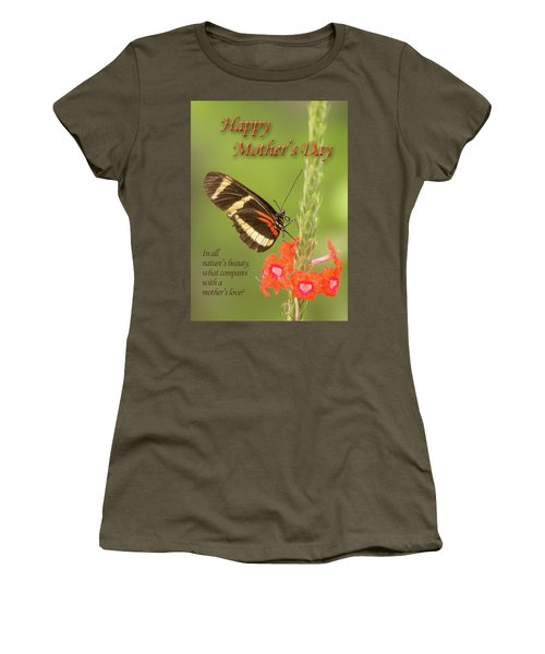 Mother's Day-butterfly Women's T-Shirt