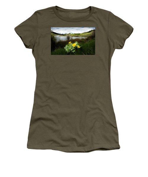 Mount Moran Spring Women's T-Shirt