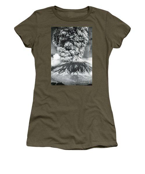 Mount St. Helens Eruption, 1980 Women's T-Shirt