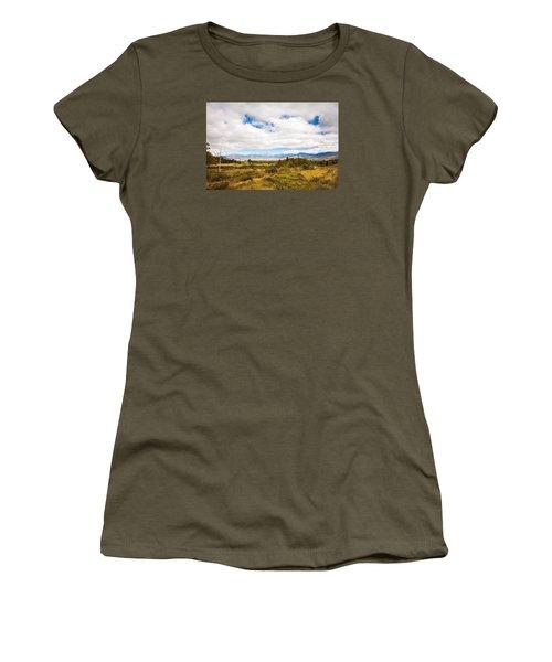 Mount Washington Hotel Women's T-Shirt (Junior Cut) by Robert Clifford