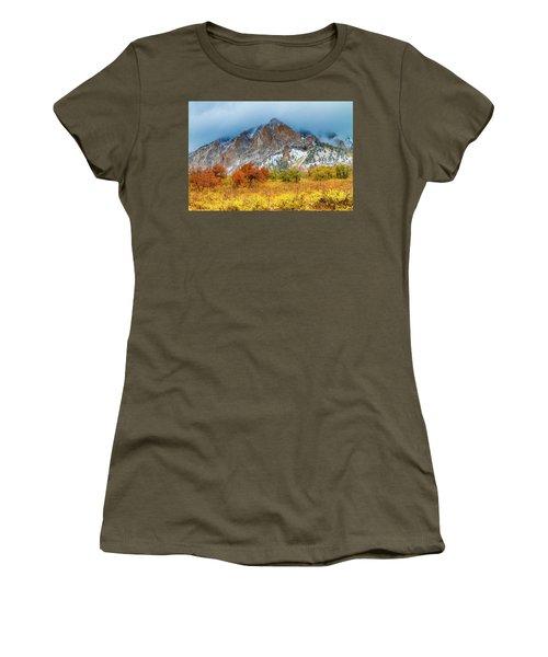 Mountain Autumn Color Women's T-Shirt