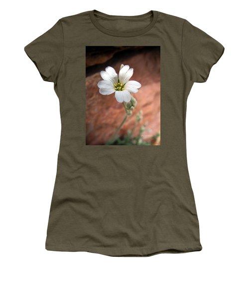 Women's T-Shirt (Junior Cut) featuring the photograph Mountain Beauty by RC DeWinter