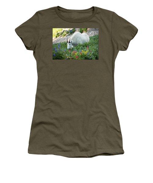 Mountain Goat On Timp Women's T-Shirt