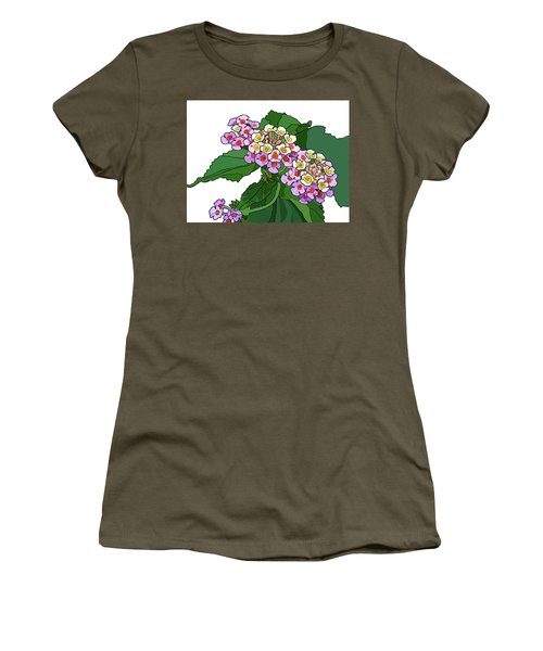 Mountain Laurel Women's T-Shirt (Athletic Fit)