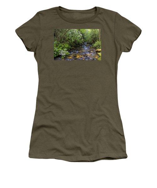 Mountain Laurels Light Up Panther Creek Women's T-Shirt