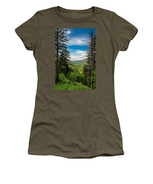 Mountain Pines Women's T-Shirt (Athletic Fit)