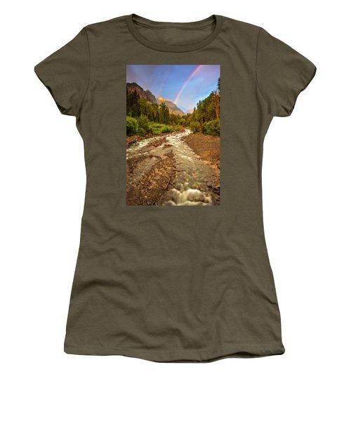Mountain Rainbow Women's T-Shirt