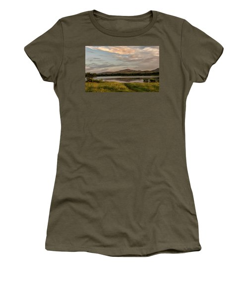 Mountain Reflections Women's T-Shirt (Athletic Fit)