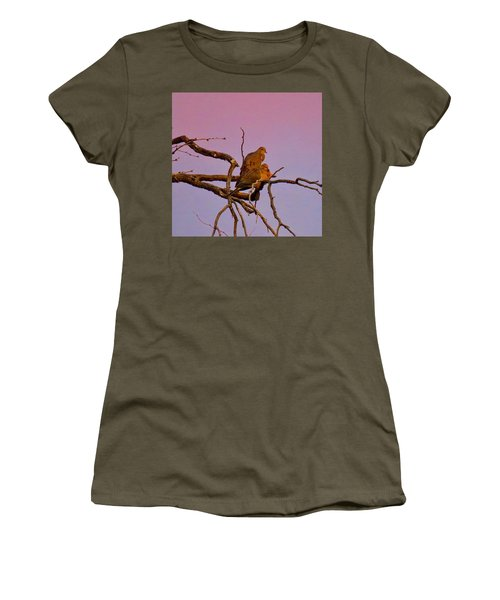 Mourning Doves Women's T-Shirt (Athletic Fit)